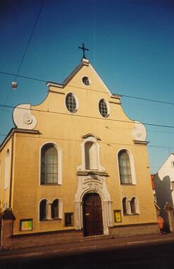 die evang kirche st markus in augsburg lechhausen. Black Bedroom Furniture Sets. Home Design Ideas