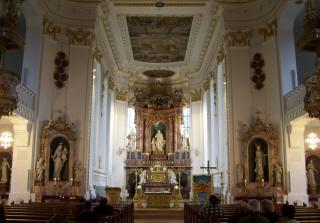 Die Kath Kirche St Verena In Bad Wurzach